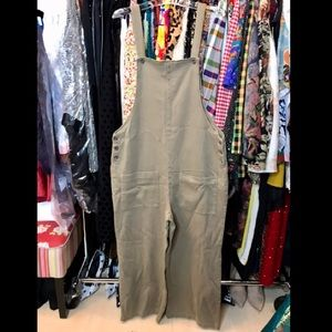 ZARA ankle overalls